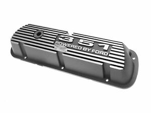 Mustang Valve Covers 351w Powered By Ford Black 64 65 66 67 68 69 70 71 72 73