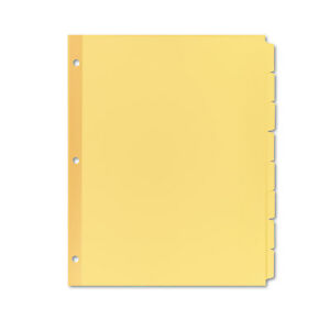 Avery Write on Plain tab Dividers 8 tab Letter 24 Sets 11505