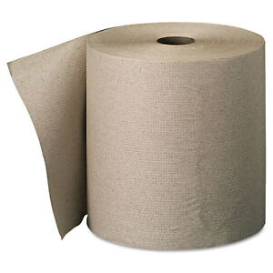 Georgia Pacific Professional Nonperforated Paper Towel Rolls 7 7 8 X 800ft Brown