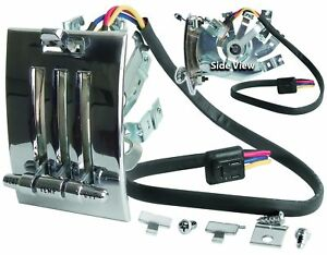 Mustang Heater Control Assembly With Switch 3 Speed 1964 1965 1966 Dynacorn