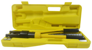 Quality 12 Ton Hydraulic Wire Battery Cable Lug Terminal Crimper Crimping Cable