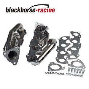 For Toyota Tundra Sequoia 4 7l V8 Stainless Racing Header Exhaust Manifold 00 04
