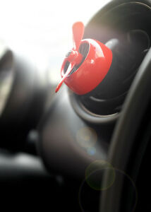 Red Car Vent Clip Fragrance Perfume Diffuser Car Air Freshener Best Aroma Scent