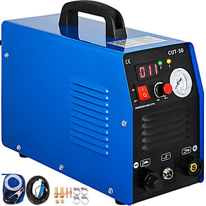 Plasma Cutter 50amp Digital Inverter Welder Cutting Good Safe Set Excellent