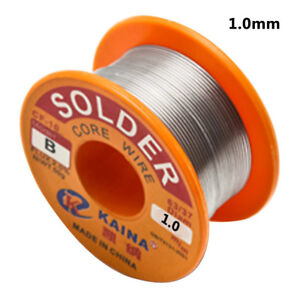 1 0mm Tin Lead Reel Rosin Core Flux Solder Wire For Electrical Welding New