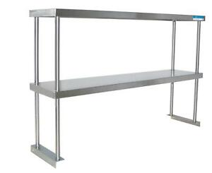Bk Resources Bk osd 1860 Table Mounted Double Over Shelf 18 X 60