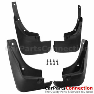 Splash Guard Front Rear Mud Flaps Fender Mudguard 4 Pc For Toyota Camry 97 01