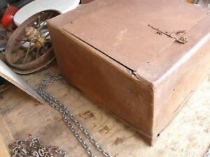 Super Rare Huge 1923 1925 Model T Ford Roadster Turtle Deck Trunk Pickup Box
