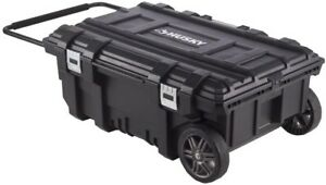 Husky Mobile Rolling Cabinet Portable Tool Storage Chest Toolbox Organizer Box