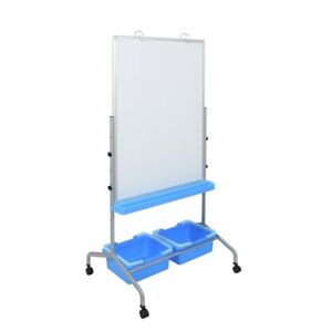 L330 Classroom Chart Stand With Storage Bins
