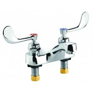 Krowne Metal 14 541l Theft Resistant Medical Lavatory Deck Mount Faucet