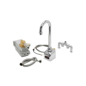 Krowne Metal 16 190 Royal Series Electronic 3 Gooseneck Spout Faucet