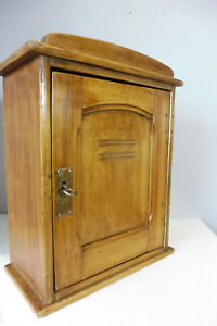 Old Antique Wall Cabinet Cupboard Hanging Cabinet In Pine Wood
