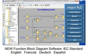 Micro Plc Programming Software With Automation Training Simulation Examples Cd