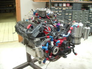 Ray Barton 426 Hemi 572 Ci Engine 1275hp Fresh Rebuild