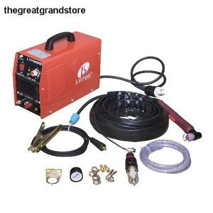 Arc Plasma Cutter Lotos 50amp Non touch Pilot Consumables Voltage Air Steel Slag