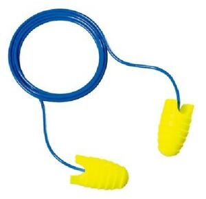 3m E a rsoft Grippers Ear Plugs Corded 100 Pair Individually Packed Pairs Large