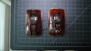 1940 Plymouth Taillight Lenses