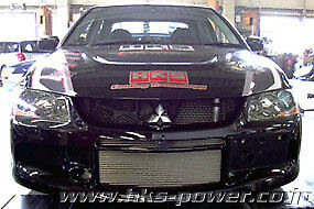 Hks R Type Intercooler Kit For 2006 Mitsubishi Evolution Evo 8 9 13001 am005