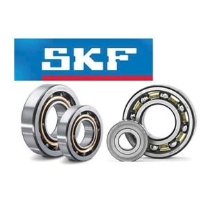 4 Pcs 6002 2rsh Skf New Rubber Seals Ball Bearing Chrome Steel Made In France