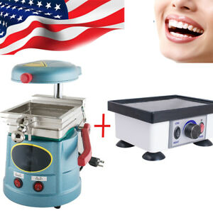 Dental Vacuum Forming Former Molding Lab Machine dental Vibrator Oscillator New