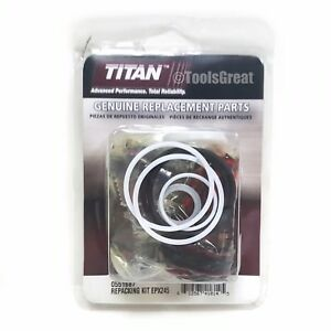 Titan Spraytech Pump Packing 0551687 Repair Kit Titan Repacking Kit For Epx2455
