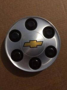 Chevy Tahoe Silverado Center Cap Hub Cap Gray 9596341 Oem