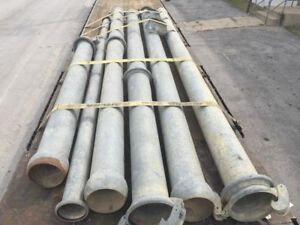 Steel Industrial Pipes Qty 6