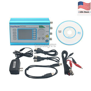 Fy2300h 25mhz Dds Arbitrary Waveform Generator Dual ch Frequency Signal Meter Us