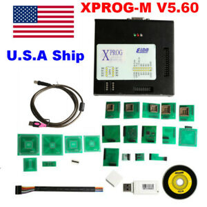 Us Ship High Quality X prog V5 60 Xprog m Ecu Programmer With Usb Dongle