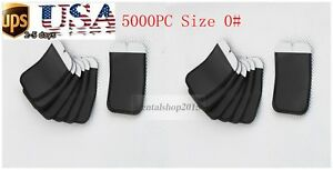 5000pcs Barrier Envelopes 0 For Phosphor Plate Dental X ray Scanx Usa Dispatch