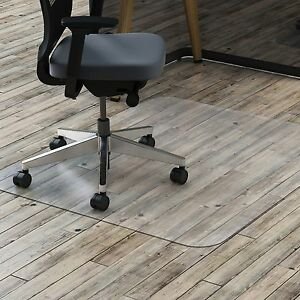 Lorell Hard Floor Chairmat Rectangular 45 x53 Clear 69707