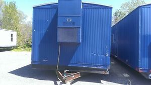 Used 1260 Mobile Office Trailer S 58449 Local Kc Delivery Only