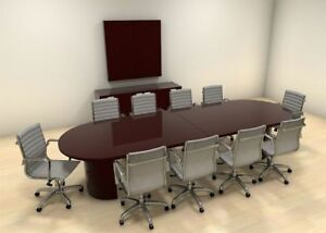 Modern Racetrack 12 Feet Conference Table ch jad c8