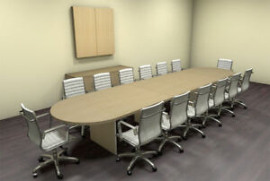 Modern Racetrack 16 Feet Conference Table ch amb c12