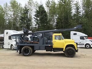 Water Well Drill Mobile B53 Truck Mounted Drill Rod Included Drill Bits