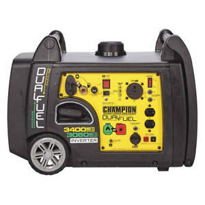 New Champion 3400 Watt Gas Or Propane Portable Generator Inverter Super Quiet