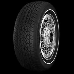 Set Of Four Vogue Tyre 225 60r16 102t 460 A A Classic Pencil Whitewall Tires