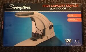 Swingline Lighttouch Heavy duty Stapler 120 sheet 90010 W 5000 Staples Nib