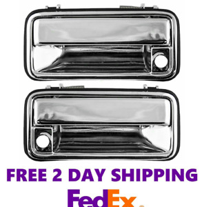 New Front Exterior Door Handle Set For 95 00 Chevy Gmc Truck Suburban Gm1310132