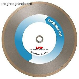 Mk Diamond 156651 Mk 215gl 7 inch Supreme Grade Diamond Blade For Cutting Glass