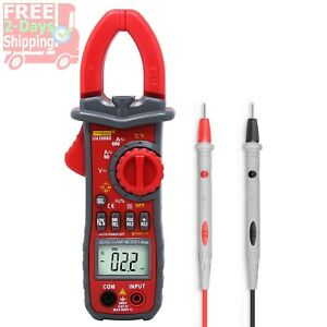 Digital High Voltage Tester Current Clamp Meter Build In Led Flashlight Portable