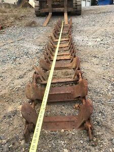 Loegering Light Duty Over The Tire Steel Skid Steer Tracks Fit For Gehl 4625