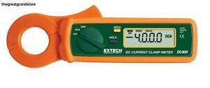 Extech Dc400 400a Dc Mini Clamp Meter Ideal Equipment Accuracy Resolution Touch
