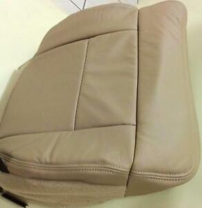 2004 2008 Ford F150 Pickup Factory Tan Leather Drivers Seat Cushion Upholstery