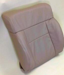 2004 2008 Ford F150 Xlt Pickup Drivers Factory Tan Leather Seat Backrest Cover