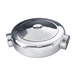 Spectre 98668 16x4 Dual 4 135 Deg Intake Chrome Plated Air Cleaner Air Box