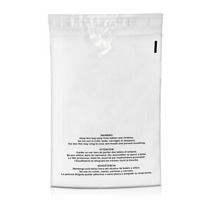 1000 7 5x10 5 Suffocation Warning Clear Plastic Self Seal Poly Bags 1 5 Mil