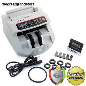 Bill Money Counter Currency Cash Counting Machine Store Business Commercial Euro