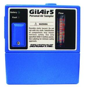 Sensidyne Gilian Gilair 5 Rc Constant Air Flow Sampling Pump